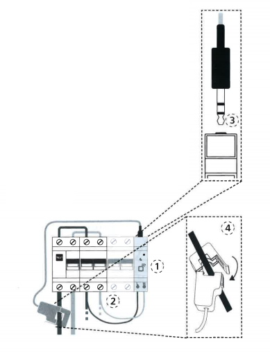 Instalación Termoweb +e (medidor eléctrico)