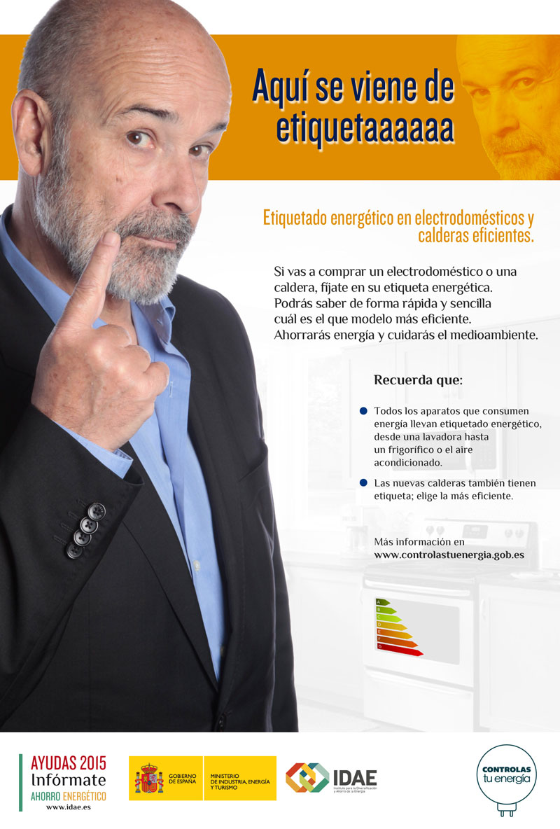 Campaña de Comunicación: Ahorro de Energía 2015 (Ministerio de Industria, Energía y Turismo