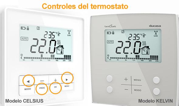 Diferencias entre los termostatos Celsius y Kelvin