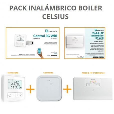 Pack Inalámbrico Control 3G wifi BOILER (CELSIUS)