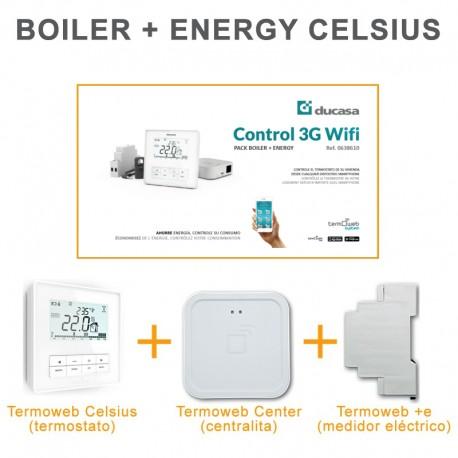 Control 3G wifi BOILER + ENERGY (CELSIUS)